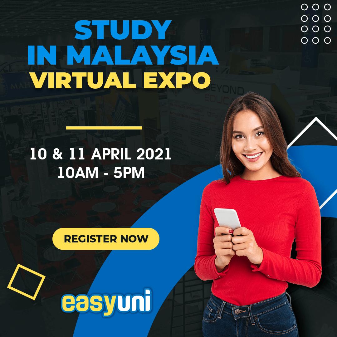 Study in Malaysia Virtual Expo's hero image